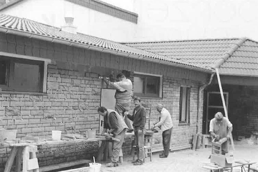 Bau der Külter Halle