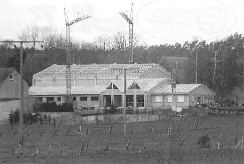 Bau der Külter Halle 1993